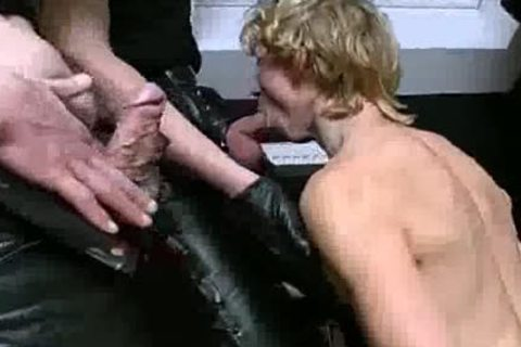 excited Leather Sex