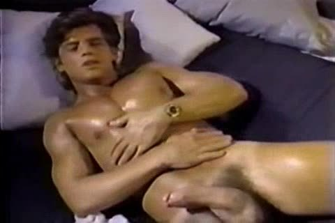 Jerking To A Jeff Stryker movie scene Then engulfing Him For Real