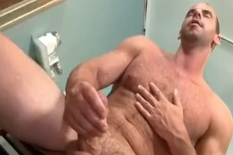 excited Doctor Teasing His Hard dick