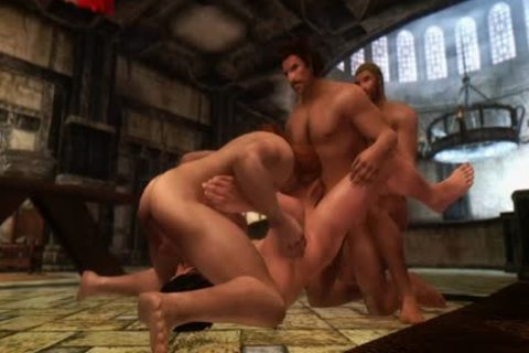 Jon Snow (Game Of Thrones) Visits Skyrim For Some guy Love