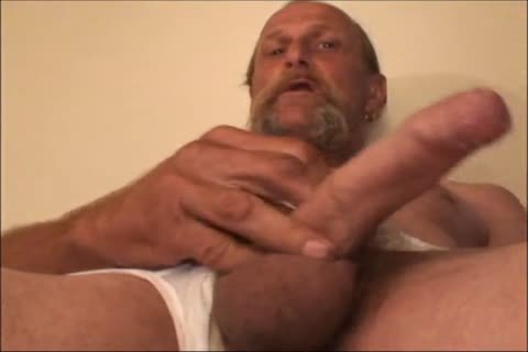 Just A scarcely any Minutes Of A video I Have, An daddy ugly lad Shows His delicious biggest Uncut messy 10-Pounder And messy arse