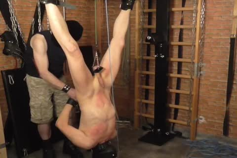 taskmaster: Sadist52   villein: MasoFun During A 4 H Session The villein Learned To Feel The Difference betwixt Whip, Flogger, Crop And Cane. this lad Ist Treated With palatable Wax, Elektroplug, Ginger, Penisplug. this lad is Suspended Upside Down,