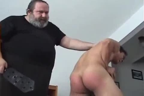 Very sexy twink Spanked