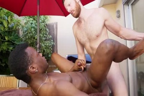 Tim And Hector Share An Interracial poke