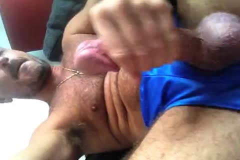TIERY B. // Masturbating In Blue  Nylo