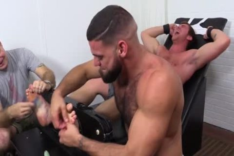 undressed Connor Laughs So Hard On belt Tickle Chair