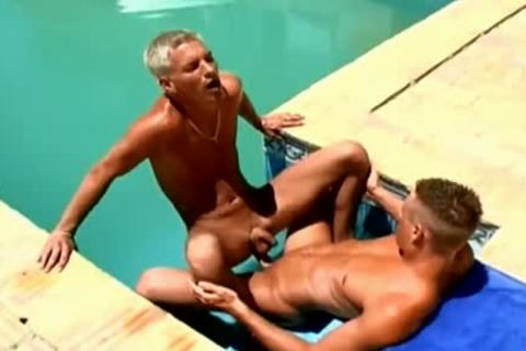 Wow pleasant ramrods pleasant Poolside homo bang
