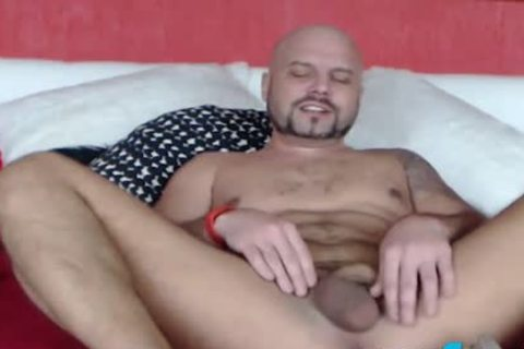 Fetish guy CBT Ball Punching And Gaping booty Play