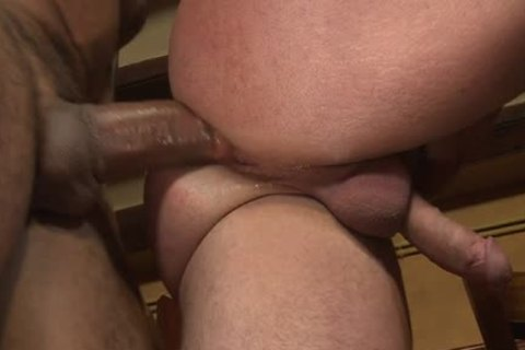 Latin Bear oral sex-stimulation And sperm flow
