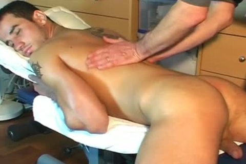 Frabice's gigantic wang Massage ! (delivery man For A homosexual man)