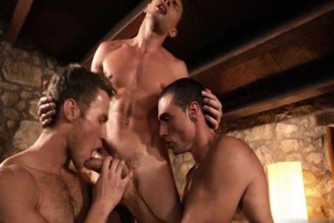 filthy gay double penetration And cum flow