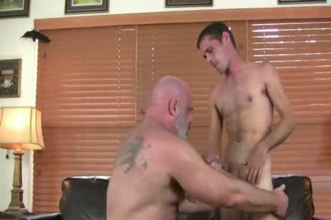 kinky hirsute fat dad bonks Hard His Son
