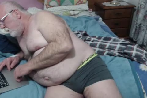 grandpa jerk off On web camera