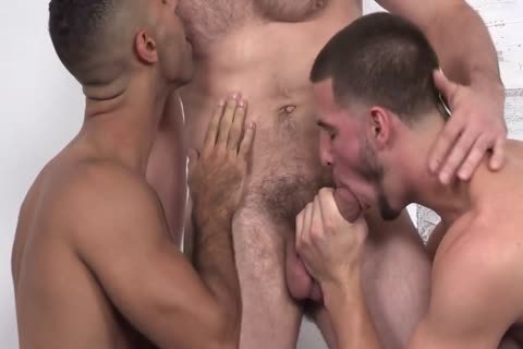 Three naughty Hunks raw