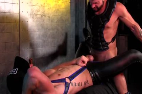 dudes JJ big And Tex Davidson Play In Neoprene Gear