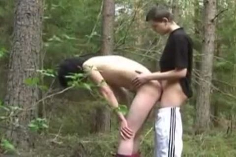 Discipline teen On The Wood slamming And sperm