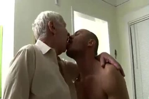 pleasing old man & Younger Having Sex