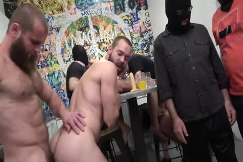 thirty guys spooge Party Scene 4