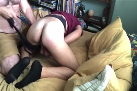 JFF - dad And Son Lesson In The Bedroom