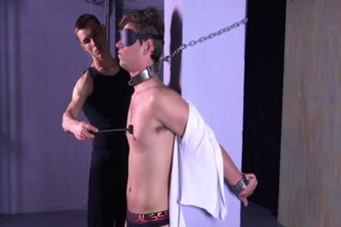 charming Michael DelRay tied & Dominated In bdsm Dungeon