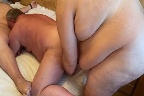 three fat Daddys Having fun