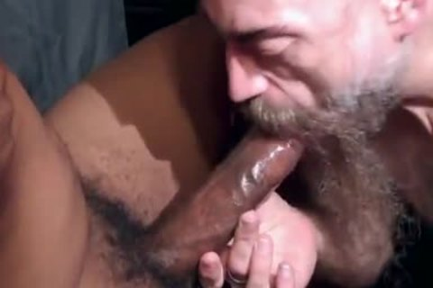 lovely Bearded suck So yummy A yummy penis