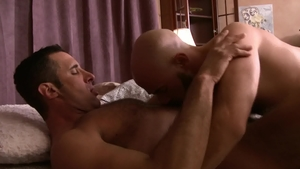 IconMale - Hairy Nick Capra rimjob sex tape